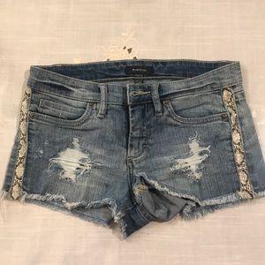 Bebe denim shorts